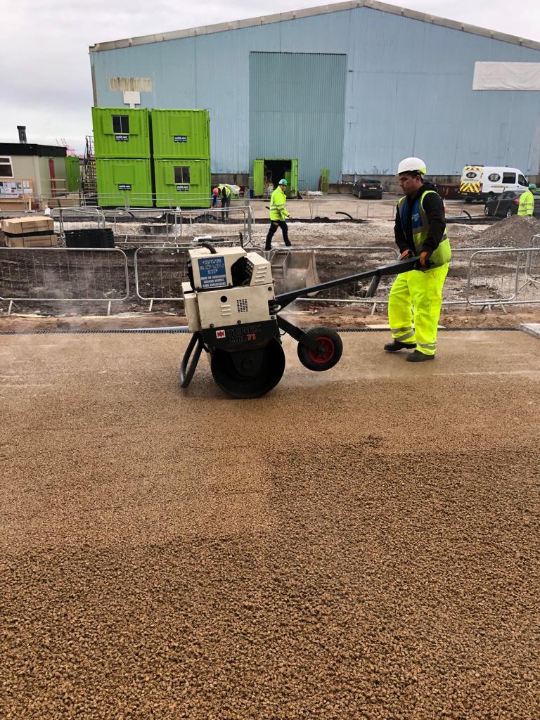 Plant Hire from Sefton Surfacing