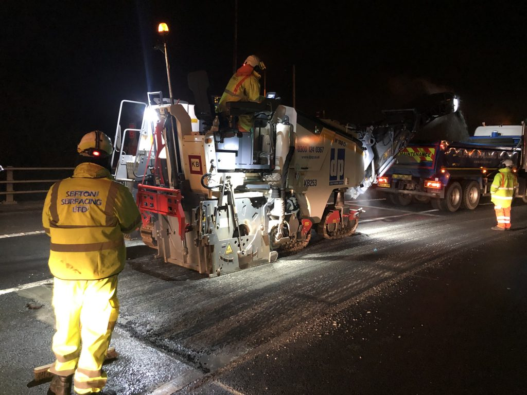 Road Surfacing by Sefton Surfacing Limited Liverpool